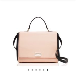 Kate Spade Magnolia Park Pink & Black Purse